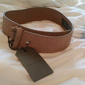 NEW!!! Women's ALL SAINTS belt!